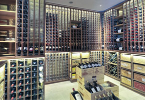 Wine cellar PERFECT FIT - Solutions made of wood